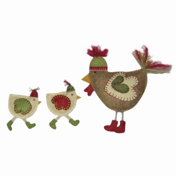 Les Poules de Noël
