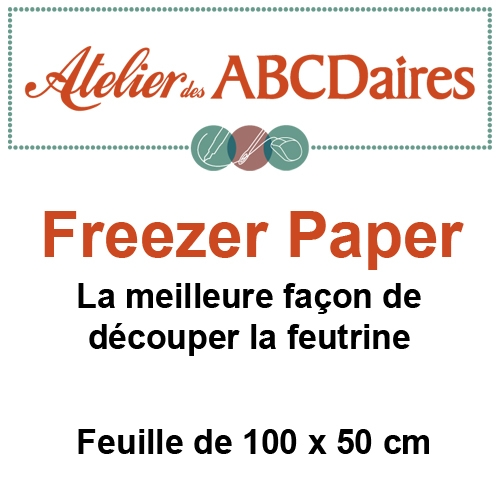 Feuille de Freezer Paper 100 x 50 cm