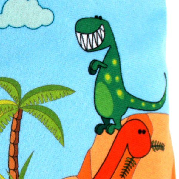GT-1579 - Grande Trousse Dinosaures (une fois cousue, détail)
