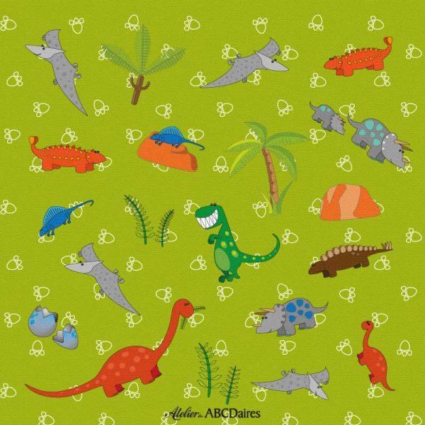 GP-1630 Grand Panneau Dinosaures