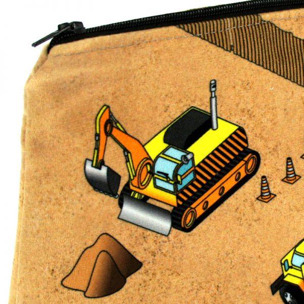 GT-1653 - Grande Trousse Bulldozers (une fois cousue, détail)