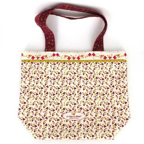 TB-1729 - Tote-Bag le Vrai Bonheur Blanc (arrière)