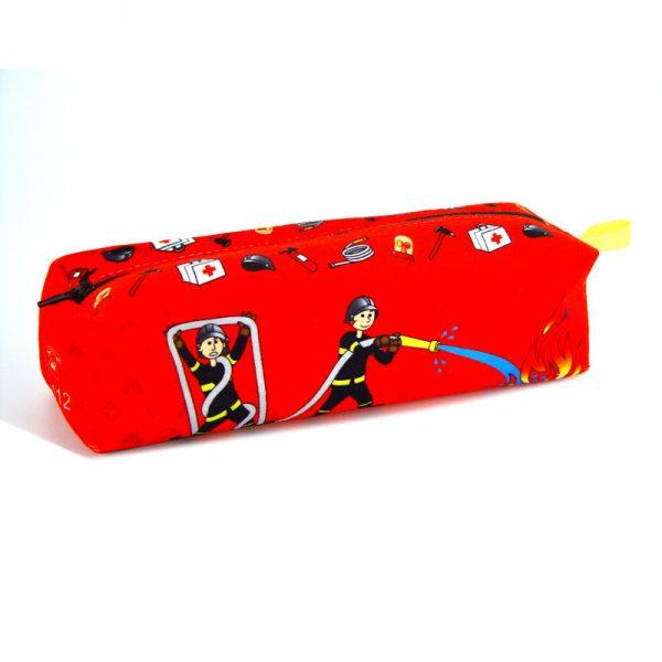 TE-1744 - Trousse à Crayons Pompiers (arrière)