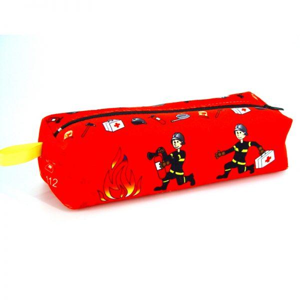 TE-1744 - Trousse à Crayons Pompiers (avant)
