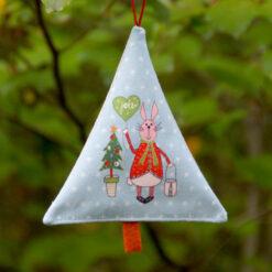 Sapin déco de Noël vive le vent scandinave
